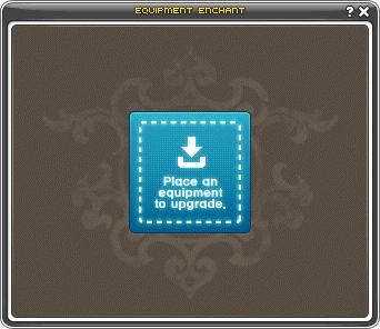 Equip Enhance UI