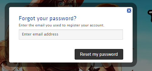 Newly Created Nexon Steam Account Requires Password for